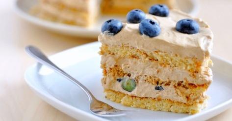 Espresso-Blueberry-Cake