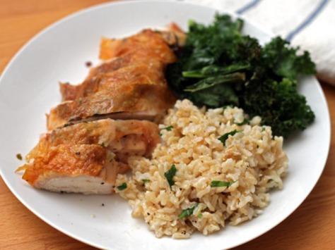 Roasted Bone-in Chicken Breast Recipe